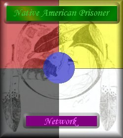 Native American Prisoner graphic logo